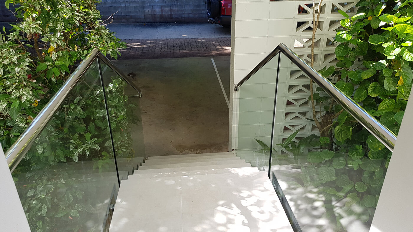 Glass Balustrade in Cairns
