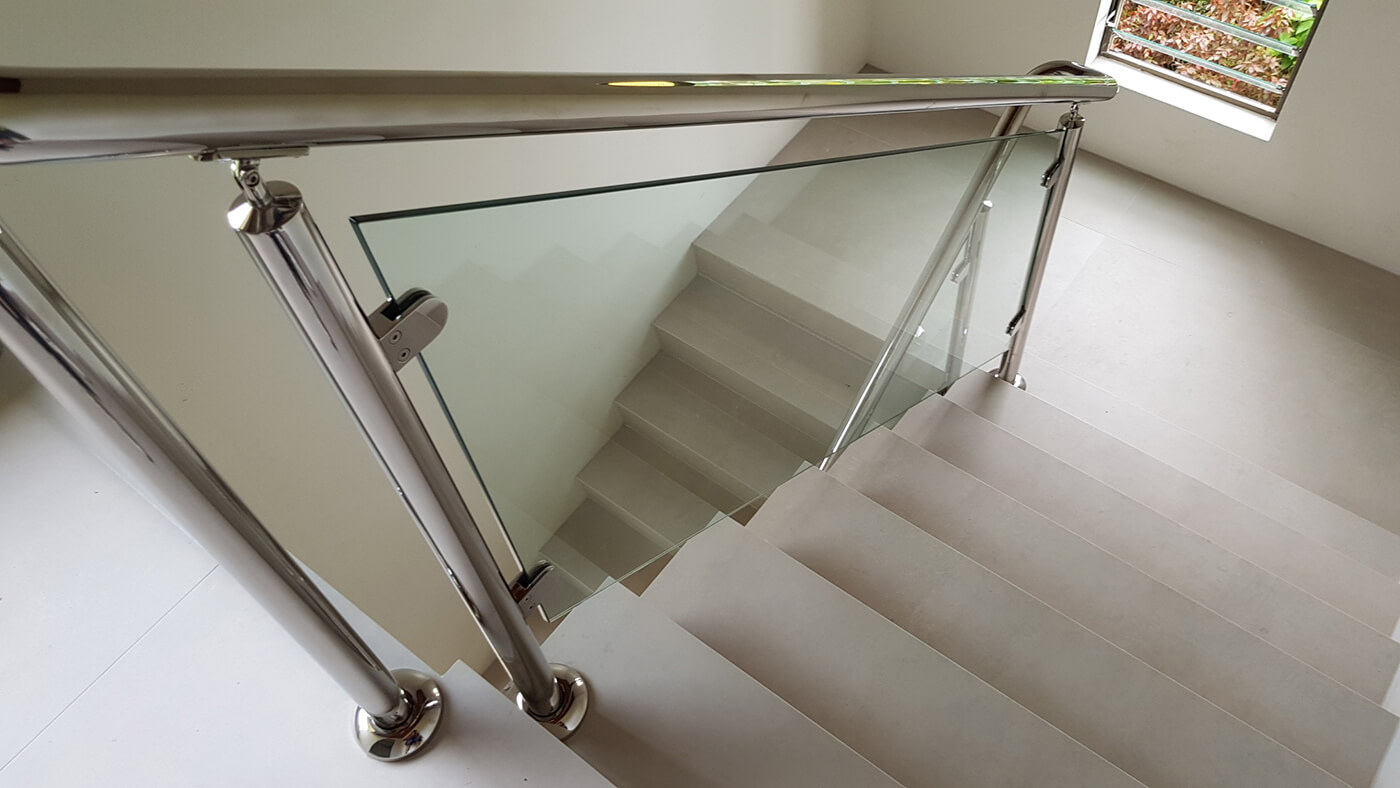 Custom Glass Balustrade