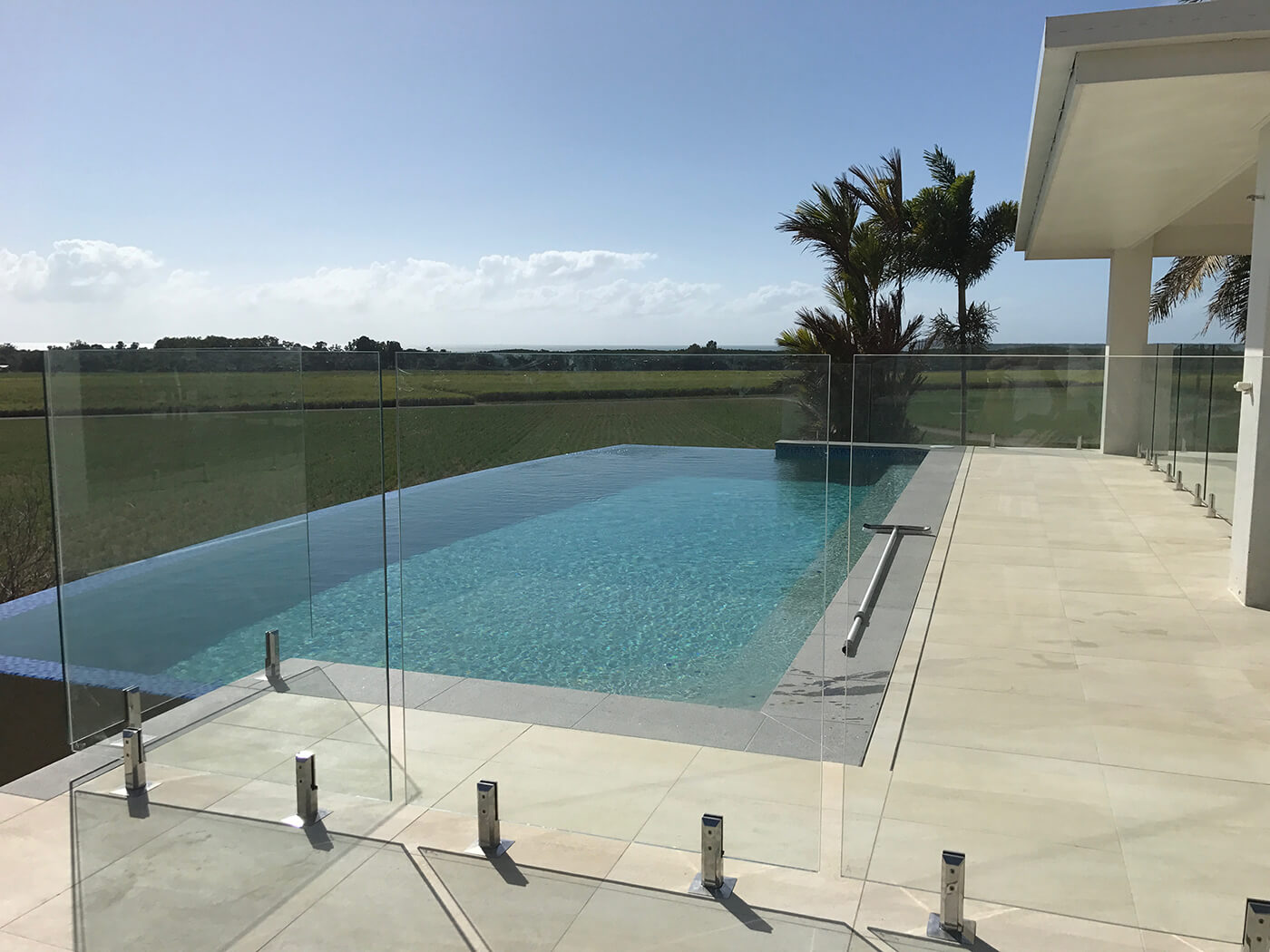Frameless Glass Pool Fencing increasing views