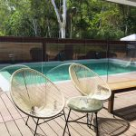 Deck Mounted Glass