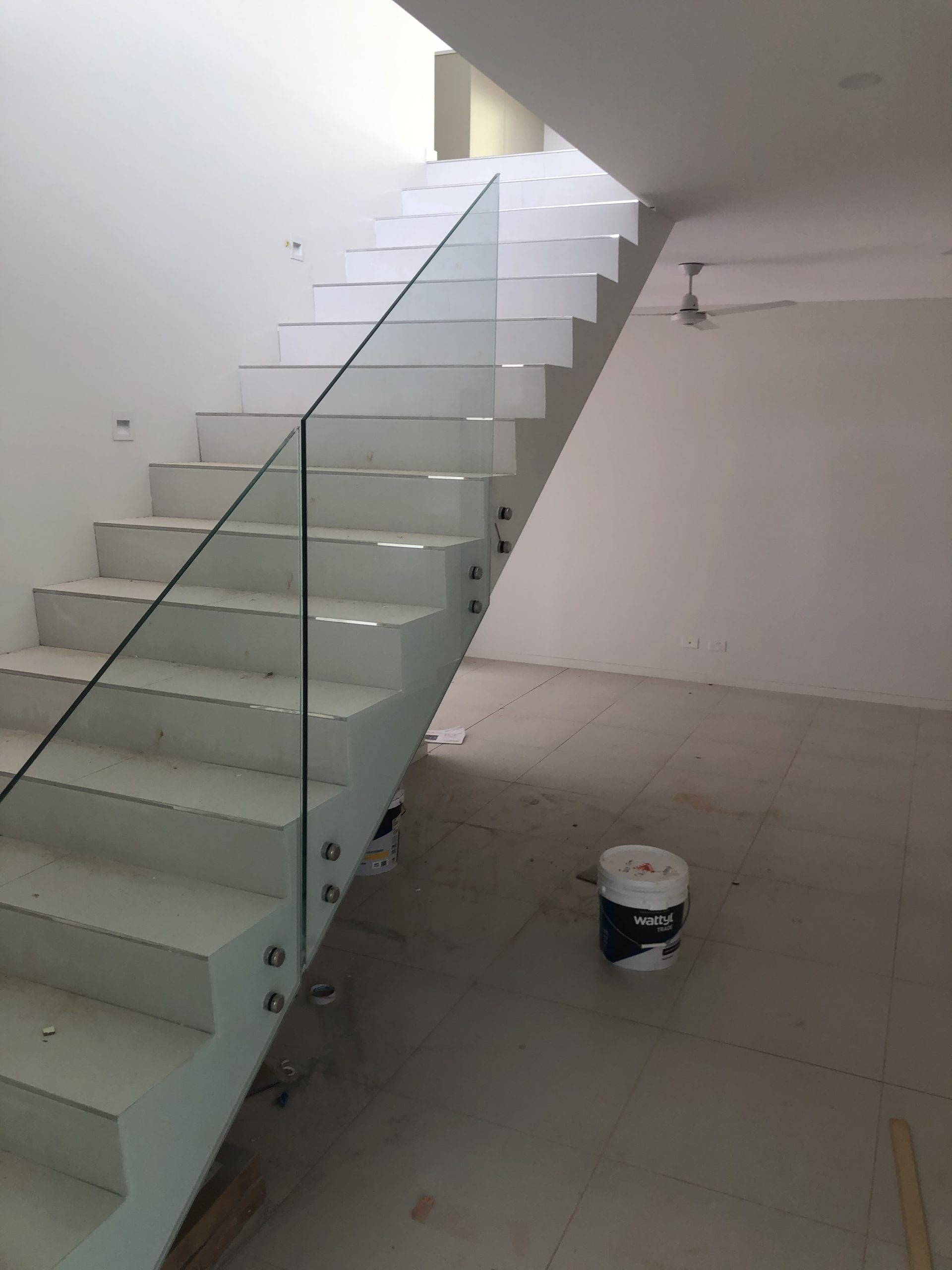 Glass Balustrade for Stairway