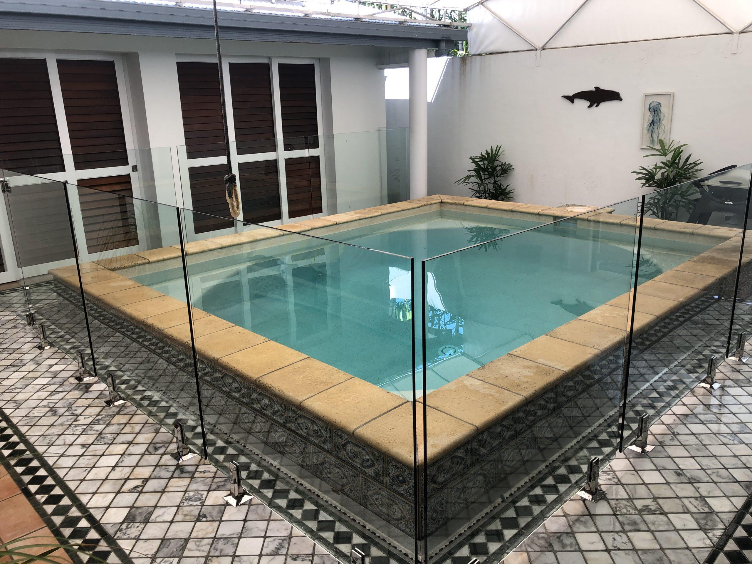Glass Pool Fencing, Renovation. Port Douglas
