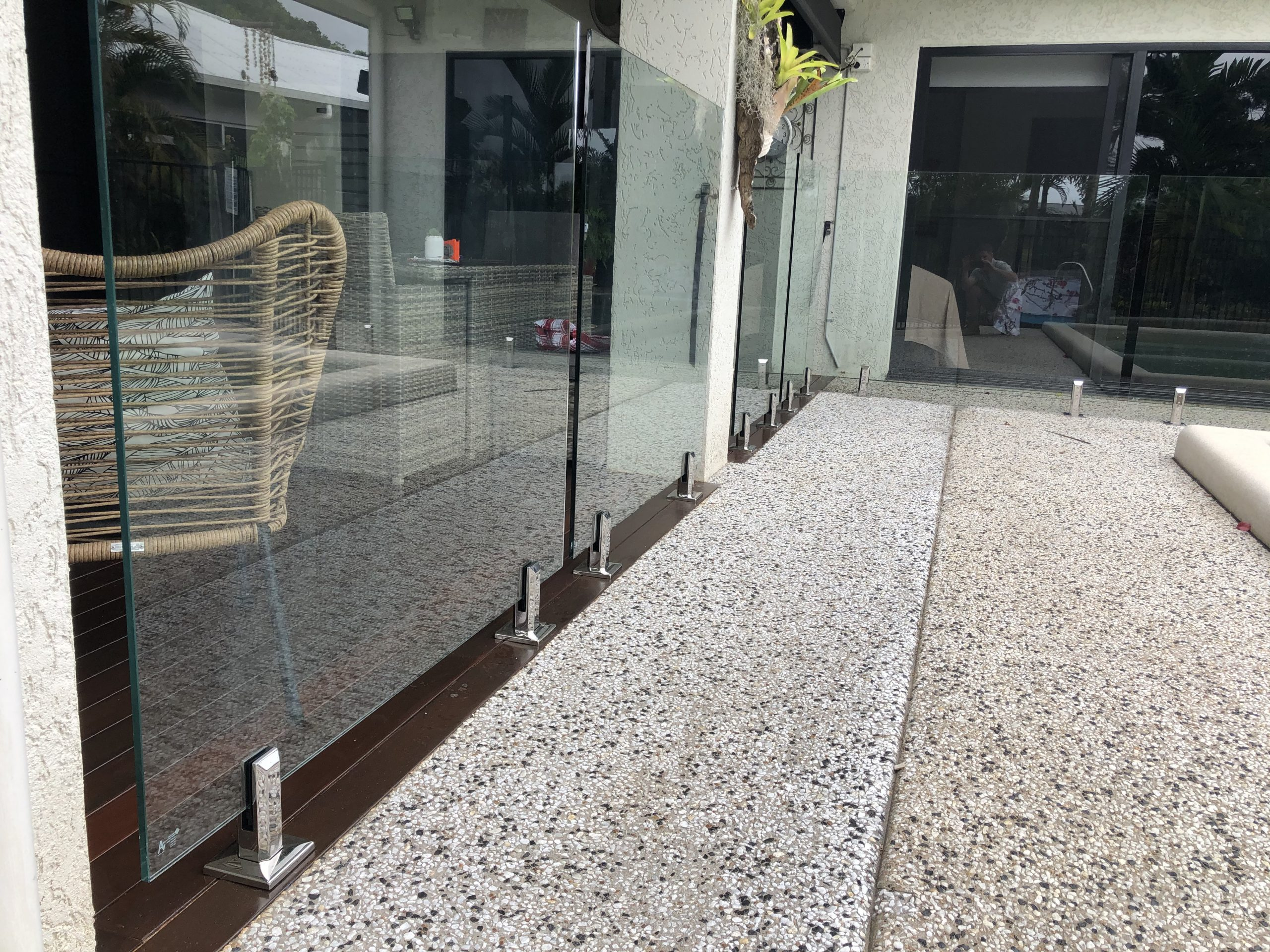 Deck Mounted Pool Fencing, Cairns